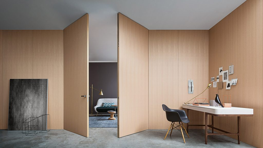 Lualdi's Wall & Door system lets architects create surfaces that perfectly fit their surroundings