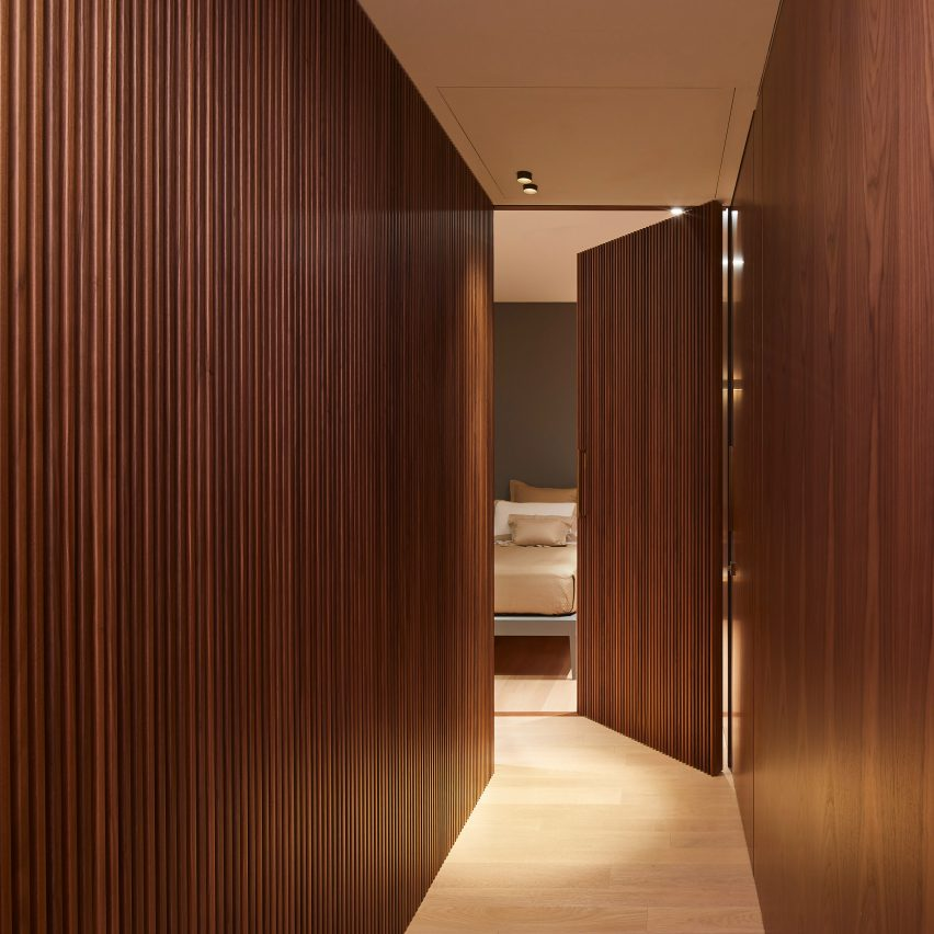 Lualdi's Wall & Doorsystem lets architects create surfaces that perfectly fit their surroundings