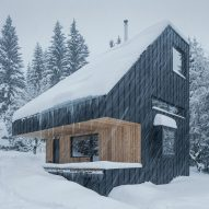 New How nestles CLT holiday home into Czech Republic mountains