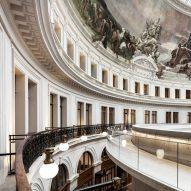 Tadao Ando's redesign of the Bourse de Commerce building in Paris features in today's Dezeen Weekly newsletter