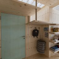 A private living space in the What We Share exhibition