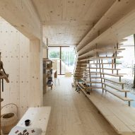 A wooden co-living space prototype