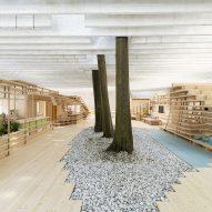 The Nordic Pavilion exhibition at Venice Architecture Biennale