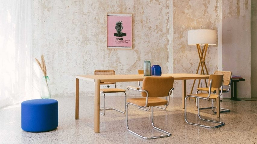 1140 table by Werner Aisslinger for Thonet