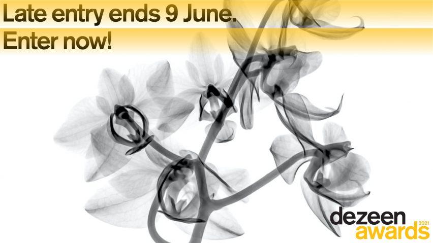 Keterlambatan Dezeen Awards 2021 berakhir pada 9 Juni
