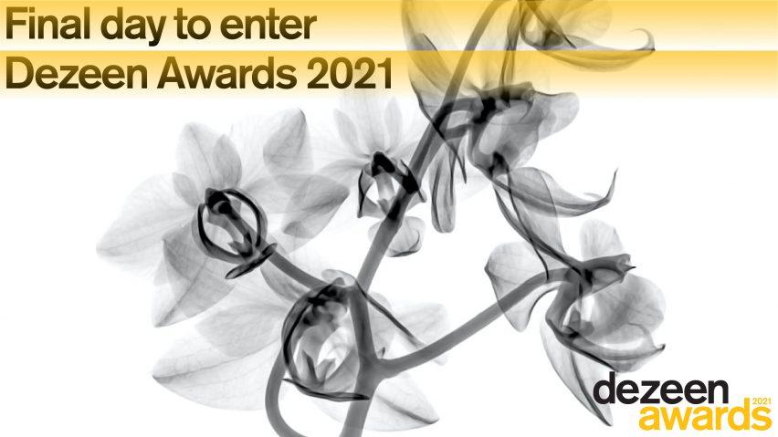 Final day to enter Dezeen Awards 2021