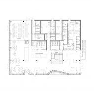 The ground floor plan of Klimatorium