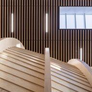 The interiors of the Klimatorium