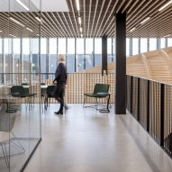 An office inside Klimatorium