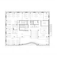 The first floor plan of Klimatorium