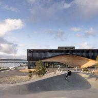 A climate centre on Lemvig harbour
