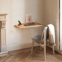 Alada folding desk by Daniel Garcia Sanchez for Woodendot