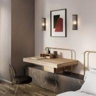 Contemporary lighting designs from Astro Lighting feature on Dezeen Showroom
