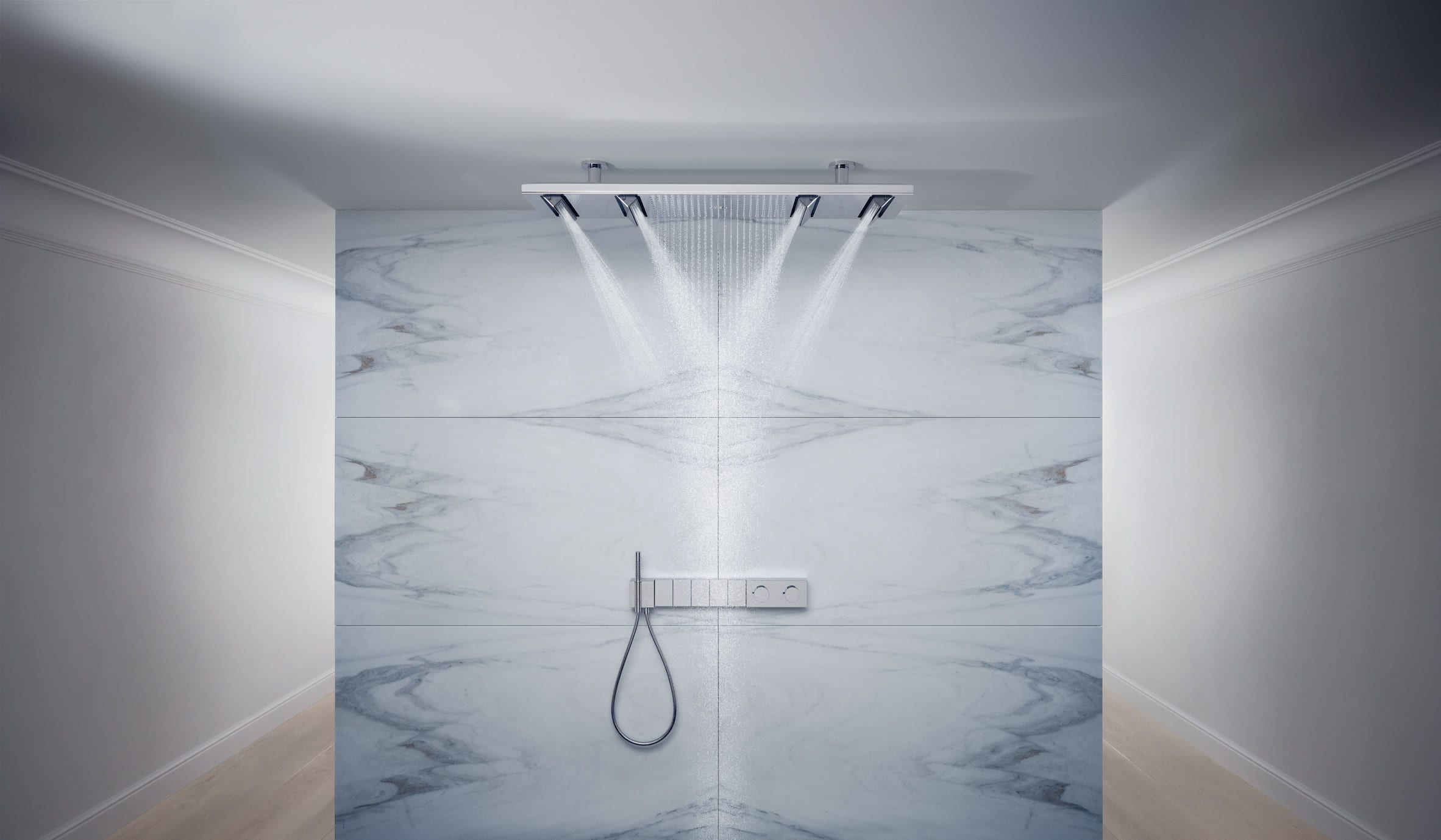 Axor Edge faucets by Jean-Marie Massaud for Axor