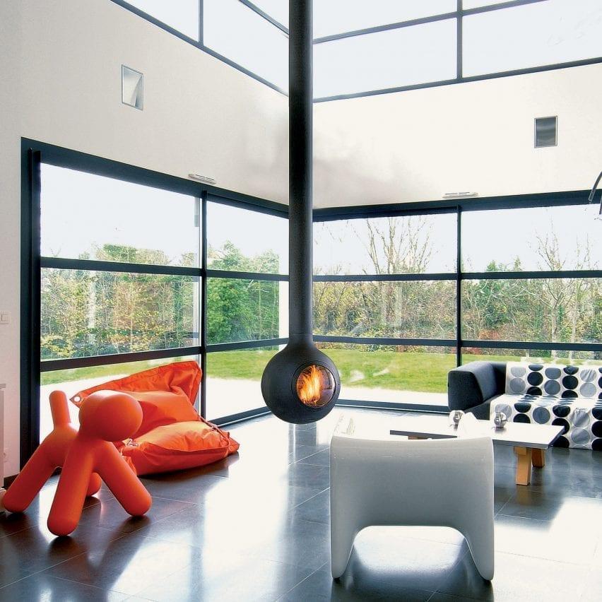 Bathyscafocus fireplace by Focus