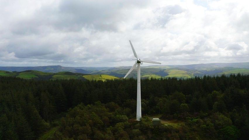 Bulb wind turbine