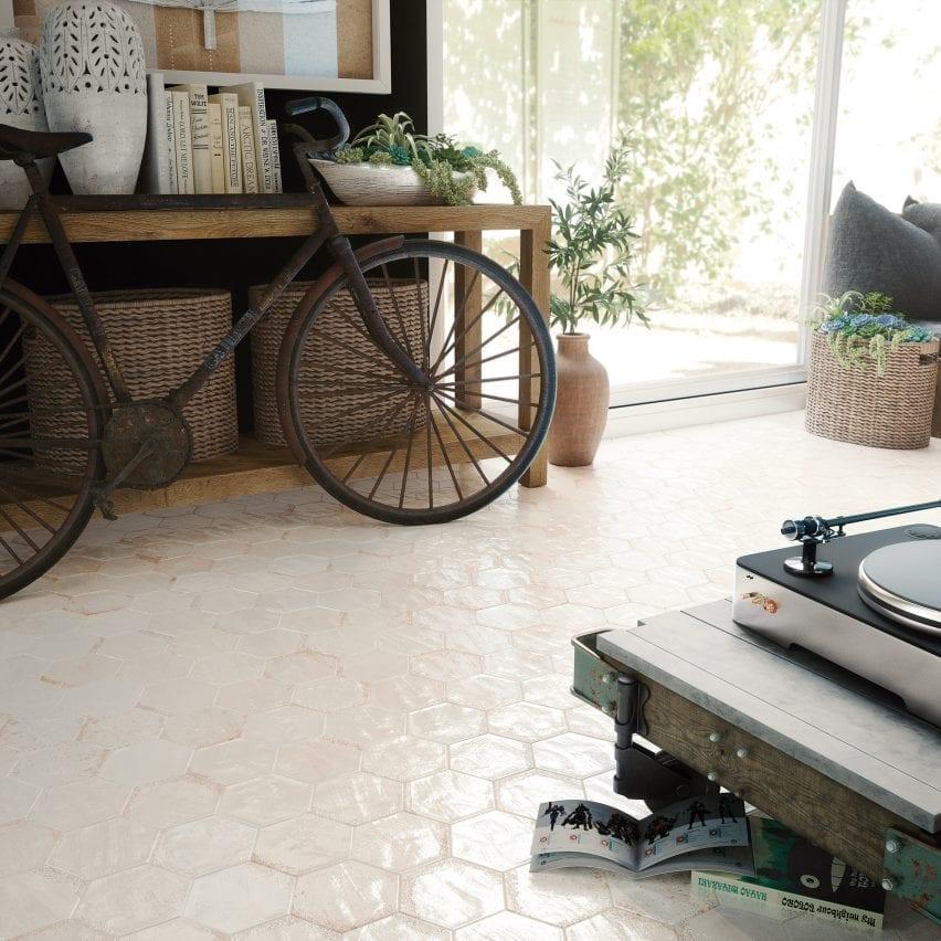 Carmen tile collection by Bestile