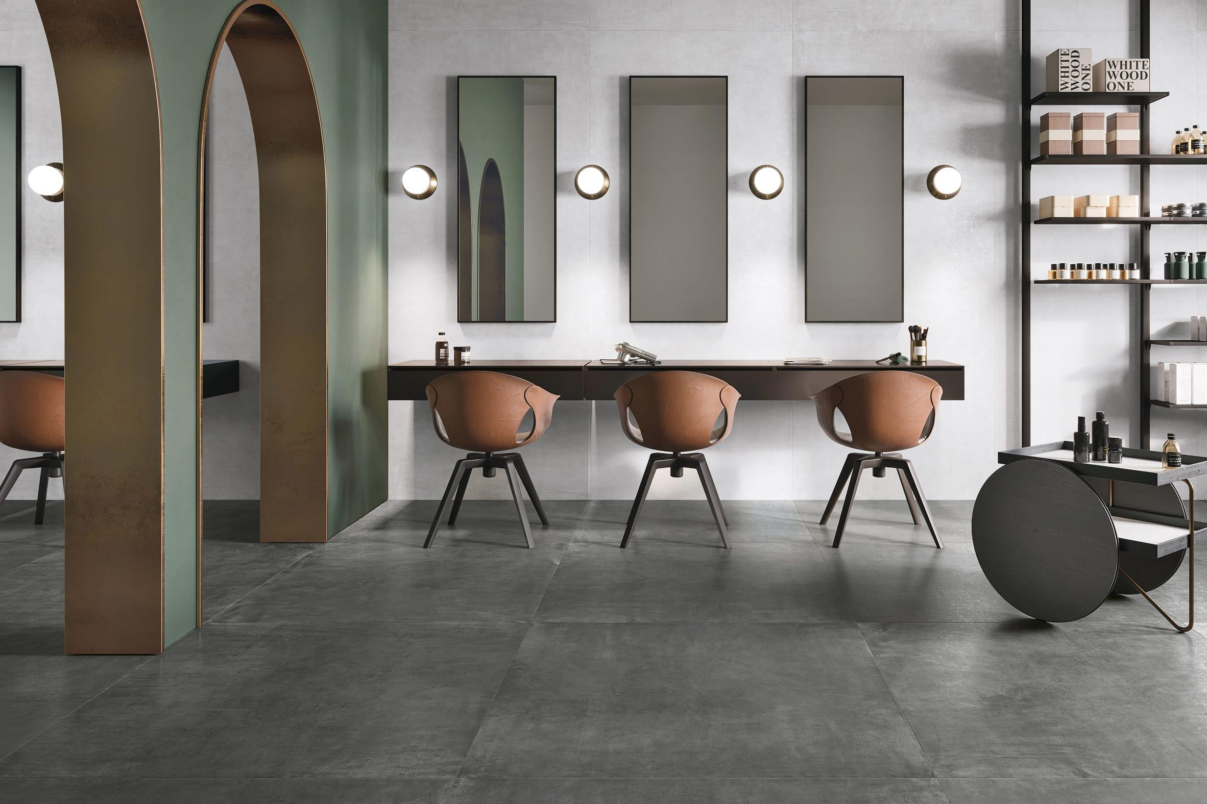 FOIL porcelain tile collection by Ceramiche Refin