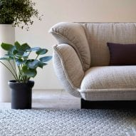 Chaddar rug by Charlotte Lancelot for Gan