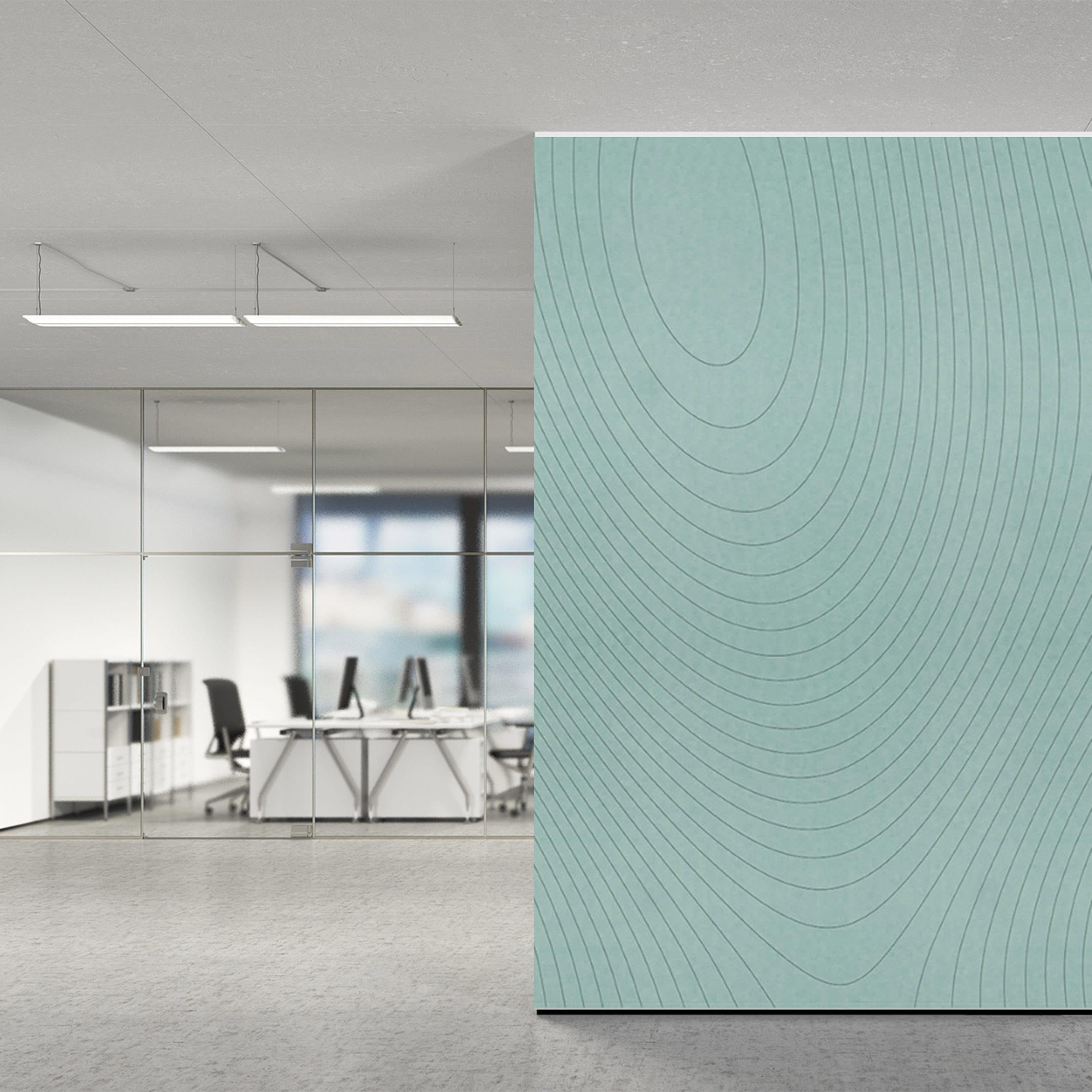 Contour acoustic panel by Jeffrey Ibanez for Impact Acoustic
