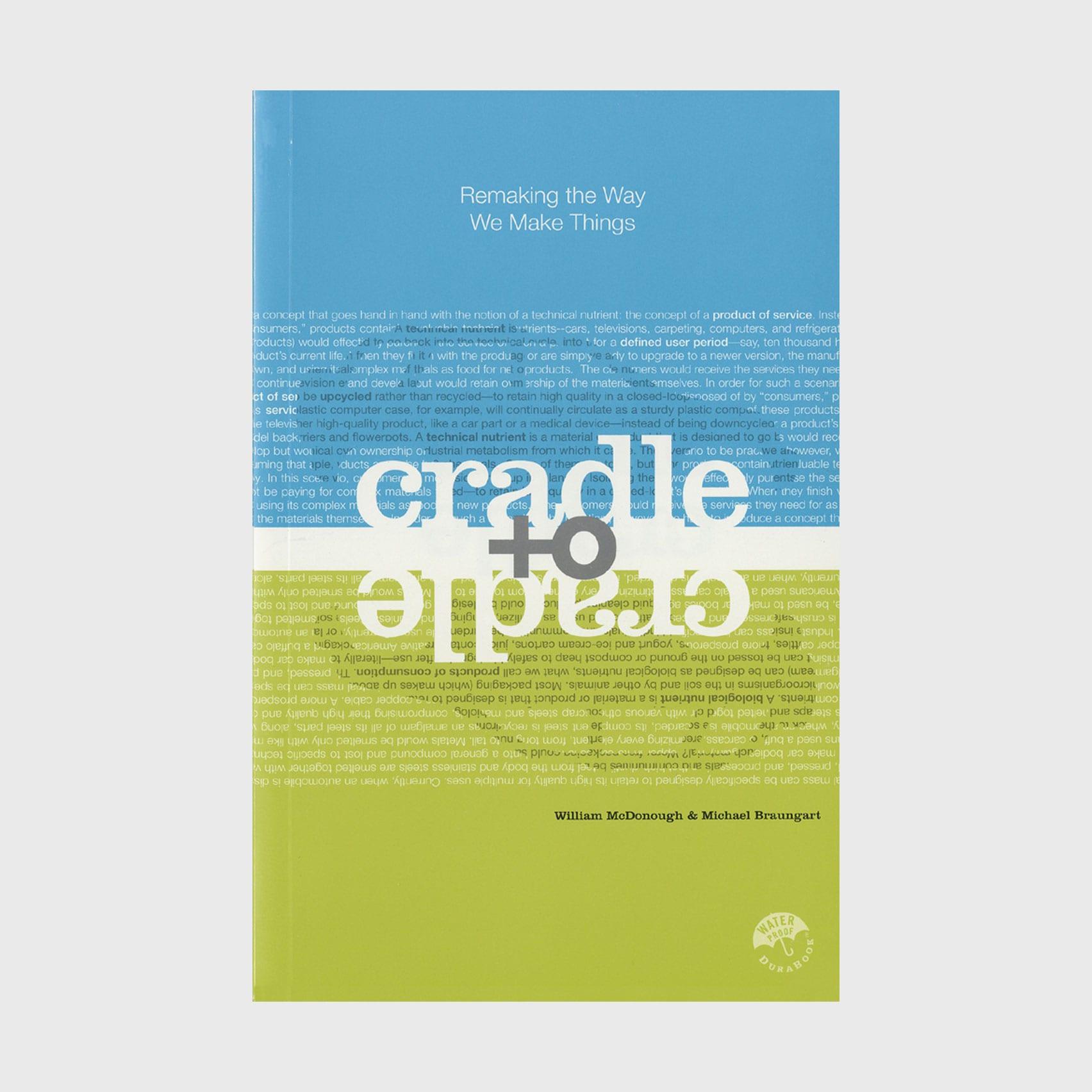 Cradle to Cradle book cover