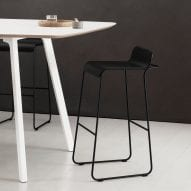Flow stool by Defne Koz and Marco Susani for True Design