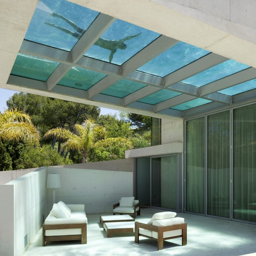 Jellyfish House, Spain, by Wiel Arets Architects