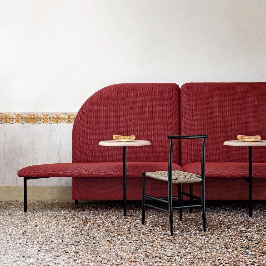 Marino bench by Miniforms