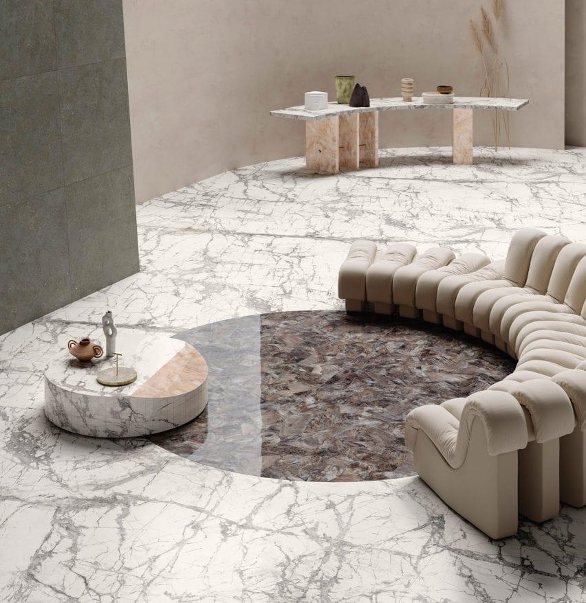 Maximum Marmi Invisible tile by Fiandre