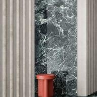 Maximum Marmi Alpi Chiaro Venato tiles by Fiandre