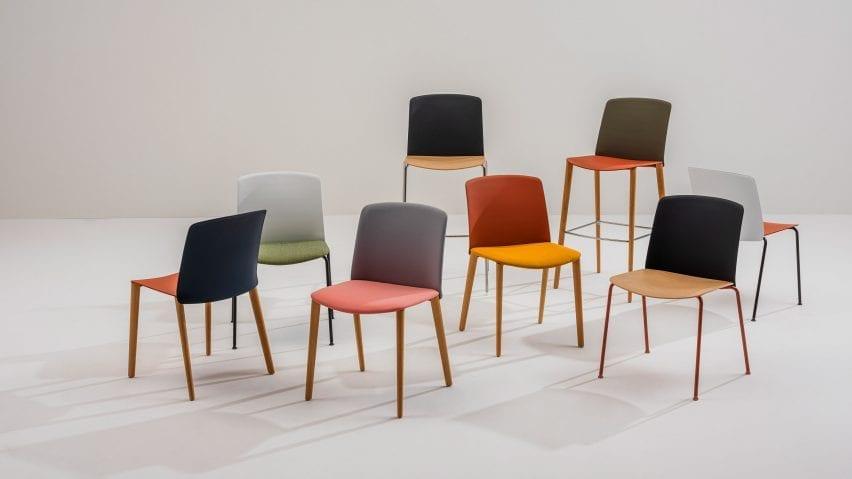 Mixu chair by Gensler for Arper