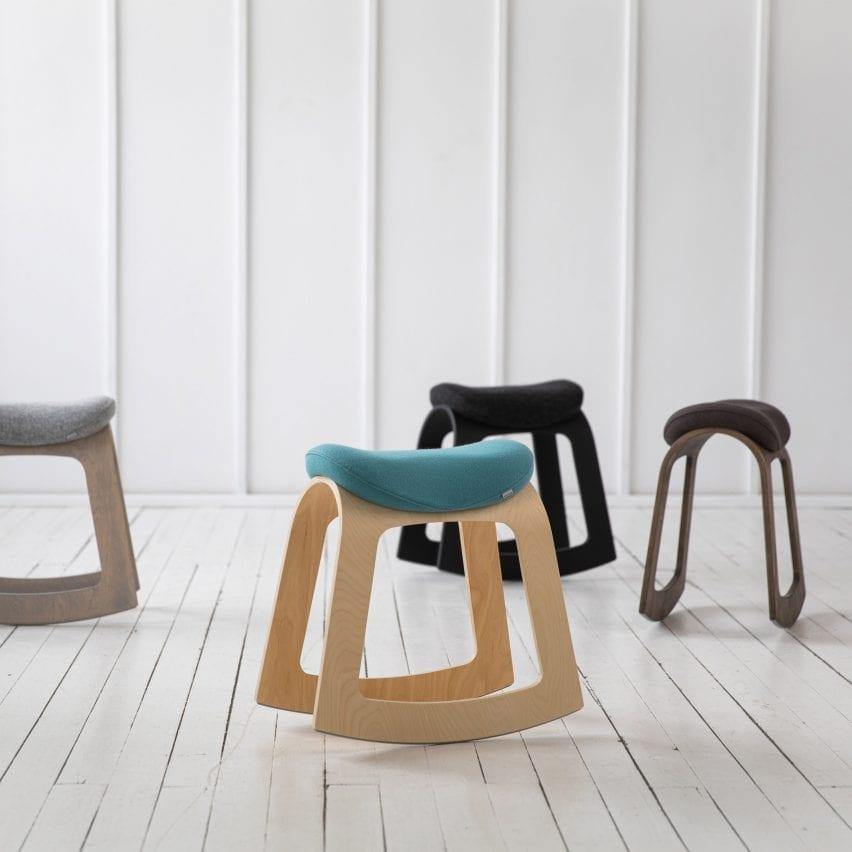 Muista active sitting chair by Aurimas Lažinskas for Muista