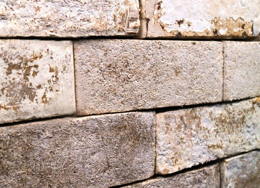 Mycelium bricks by Biohm