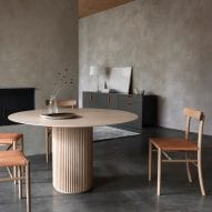 Palais Royal dining table for Asplund among new products on Dezeen Showroom