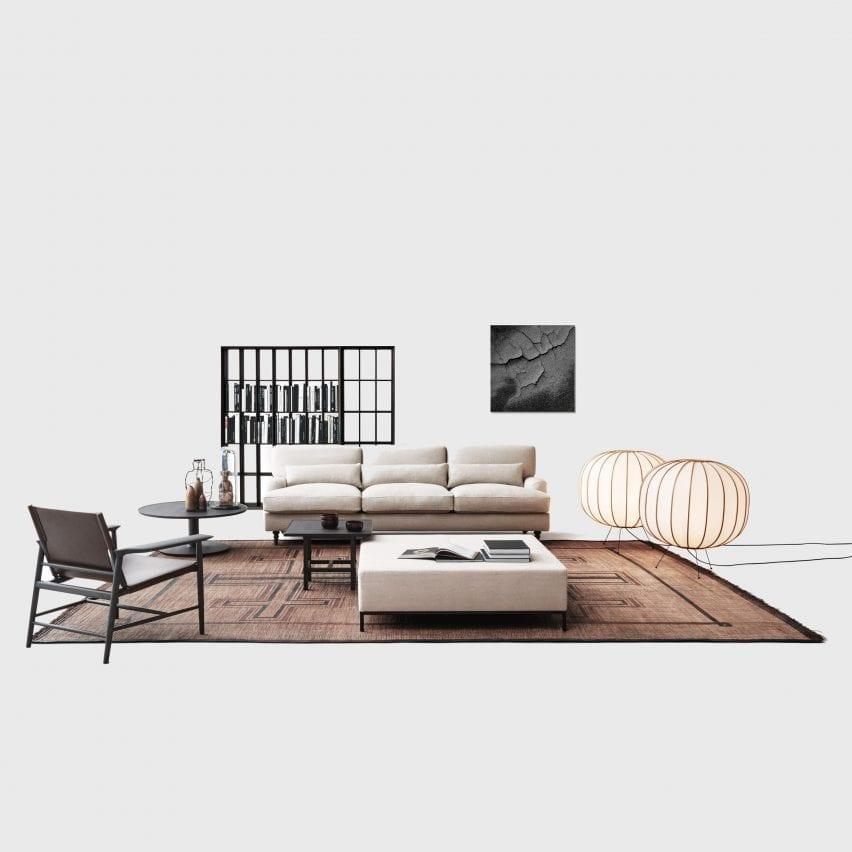 Raffles sofa by Vico Magistretti for De Padova