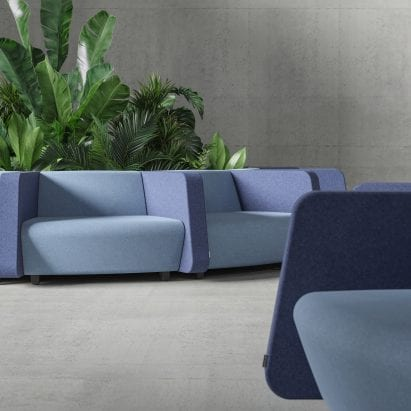 Soft Rock modular seating system by Strand + Hvass for Narbutas