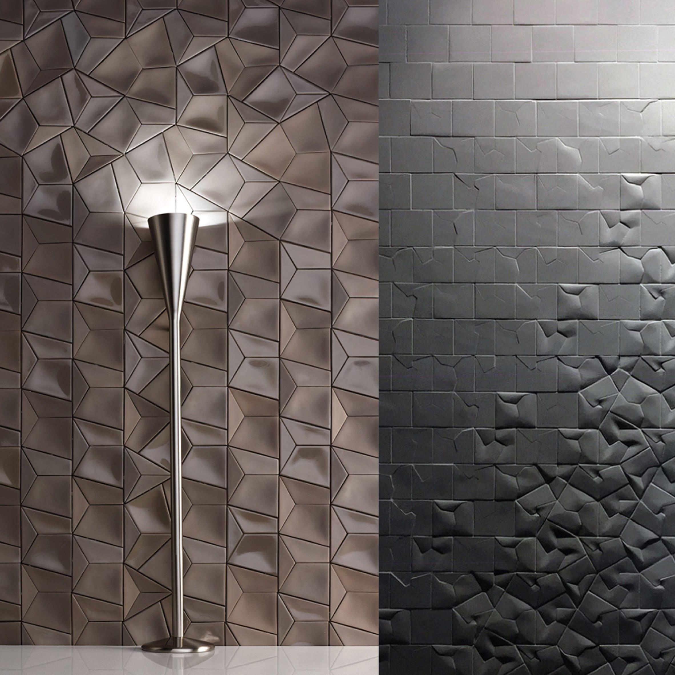 Squar(e) tiles by Giovanni Barbieri