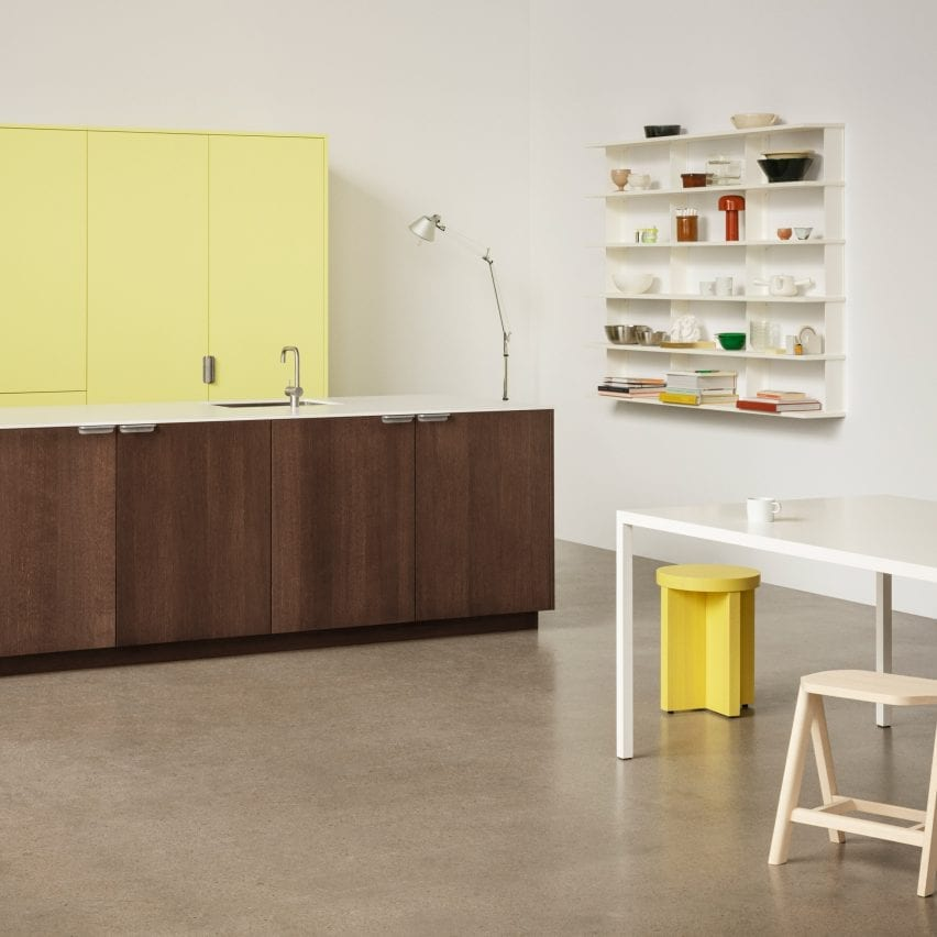 Unit kitchen by Aspekt Office for Reform