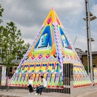 "Adam Nathaniel Furman unveils ""monumentally joyful"" pyramid at King's Cross"