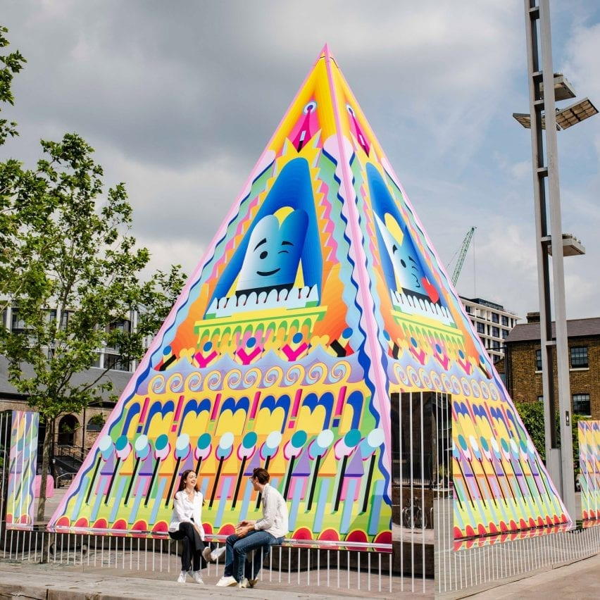 Proud Little Pyramidat King's Cross by Adam Nathaniel Furman