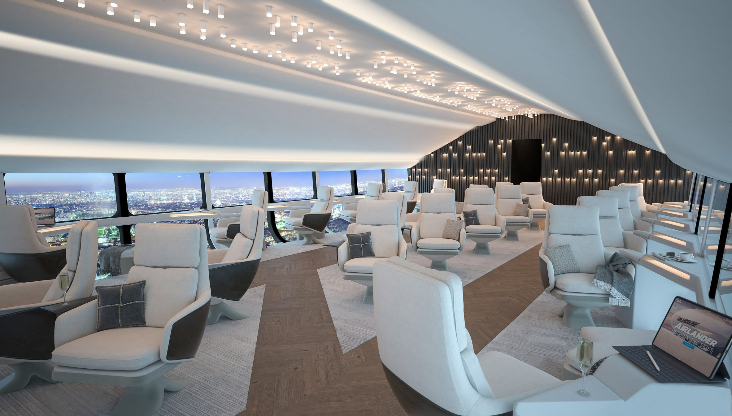 Interior render of the Airlander 10