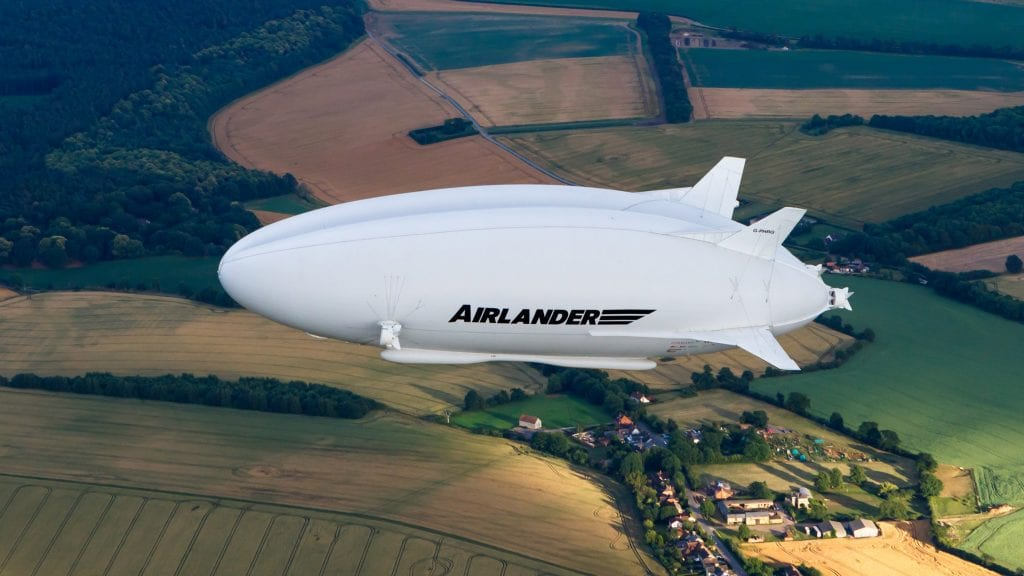 Electric airship designed to replace short-haul plane trips
