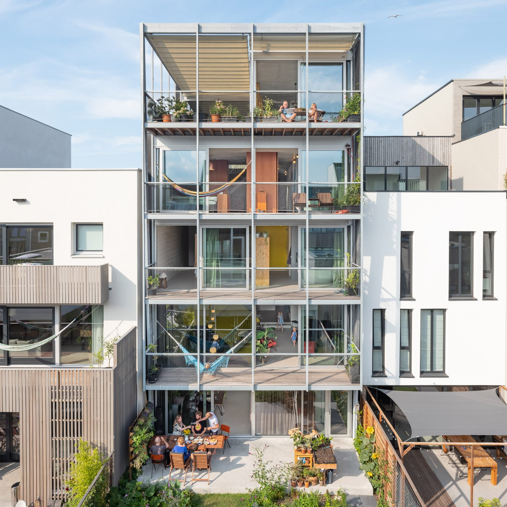 A multi-generational house in Amsterdam