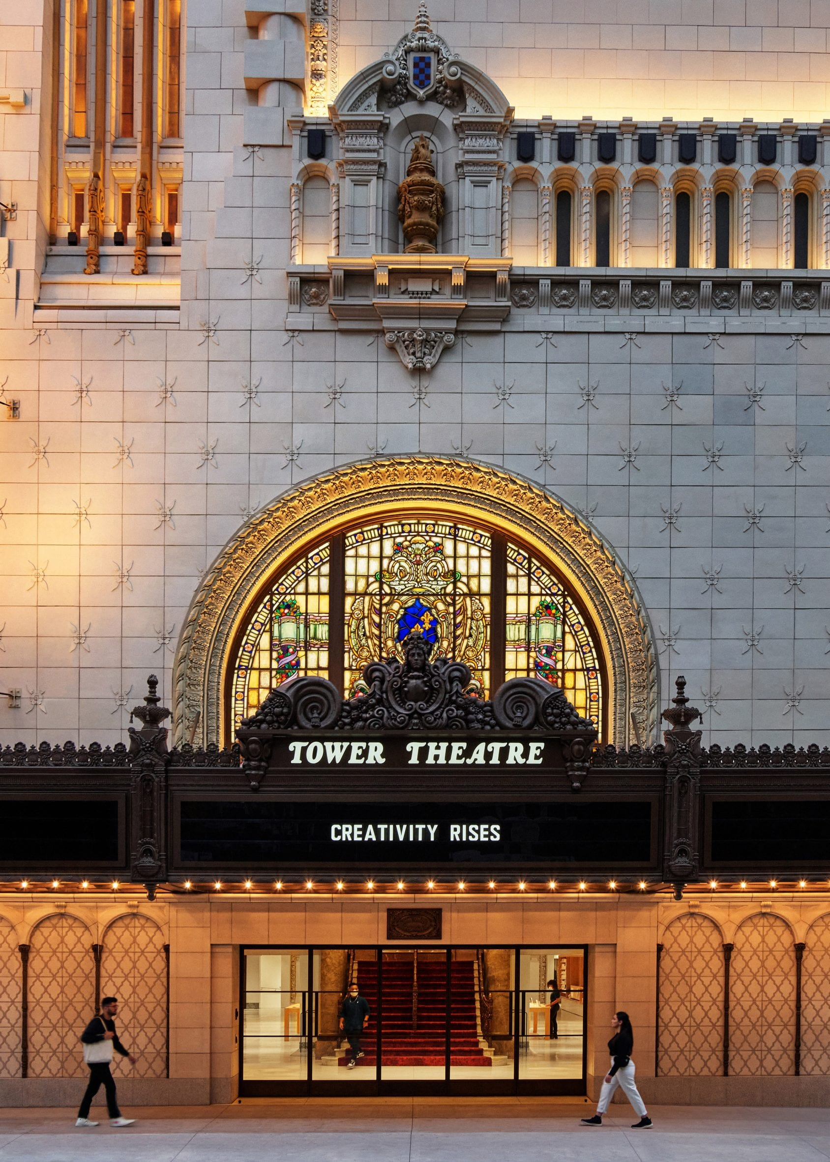 Apple Tower Theatre in Downtown Los Angeles