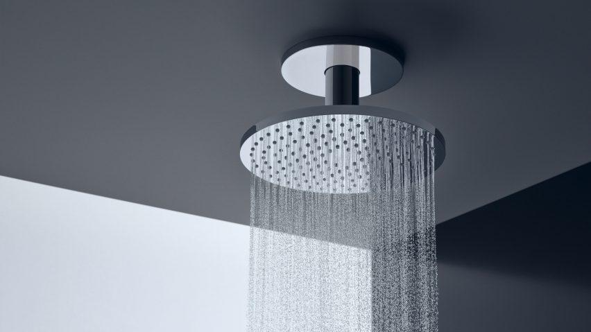Axor showerhead by Phoenix Design for Axor