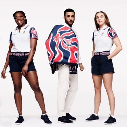 Team GB Olympic official uniforms