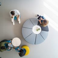 Modular seating by Stone Designs for Actiu