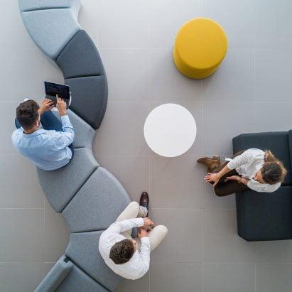 The modular Bend sofa system