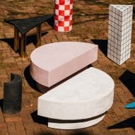 """Furniture collection Brite Bodies is a """"kaleidoscopic nod"""" to the work of influential creatives"""