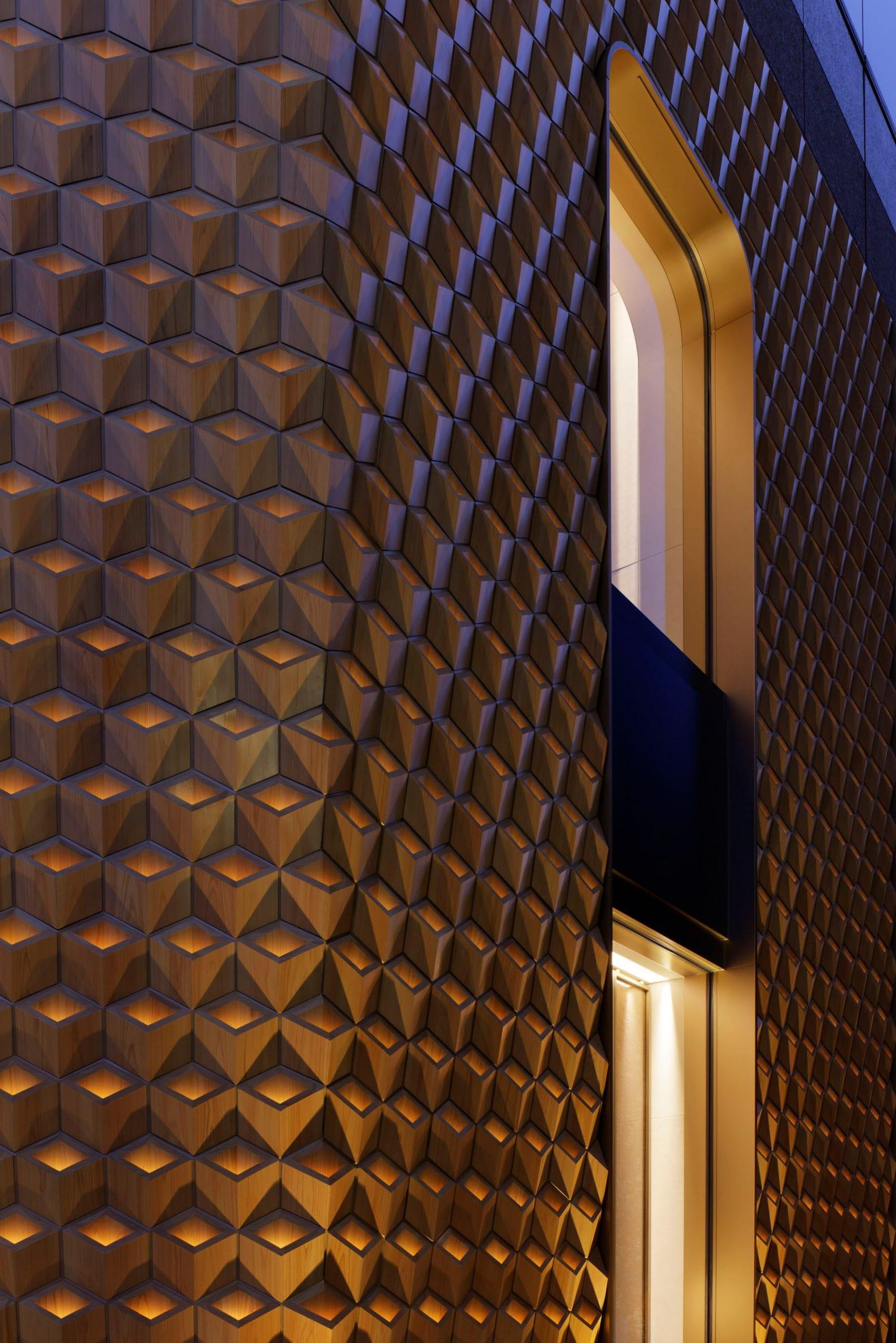 The wooden by Klein Dytham Architecture illuminate
